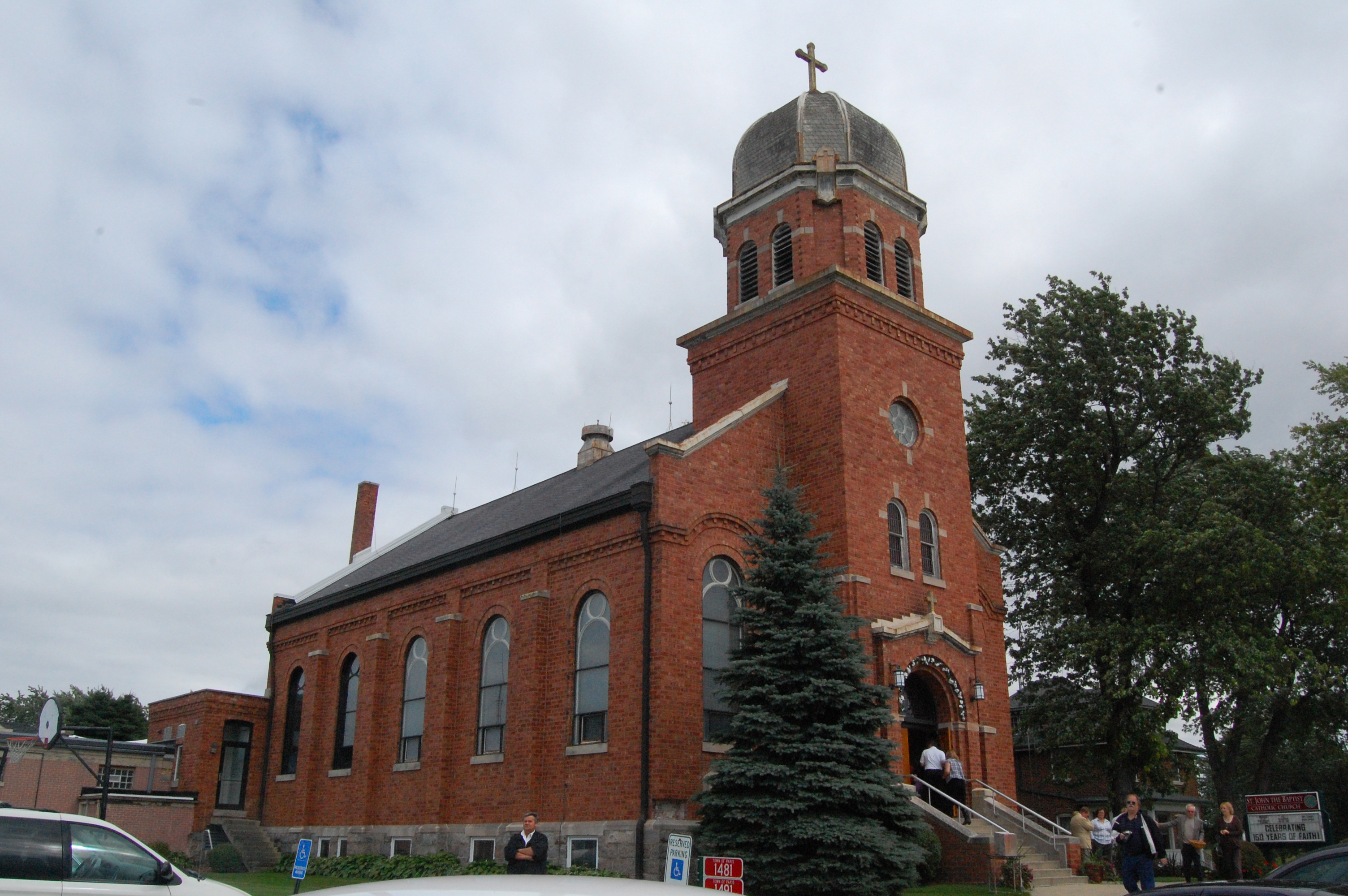 St John The Baptist Church Marks 150 Years West Of The I