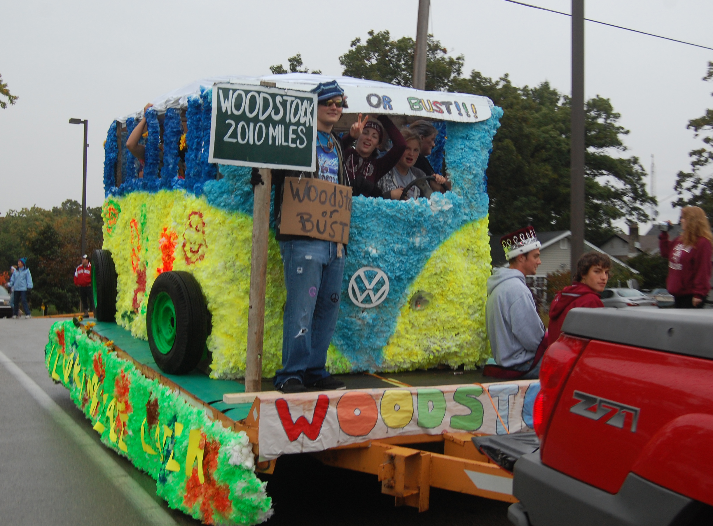 Central High School Homecoming Parade West Of The I