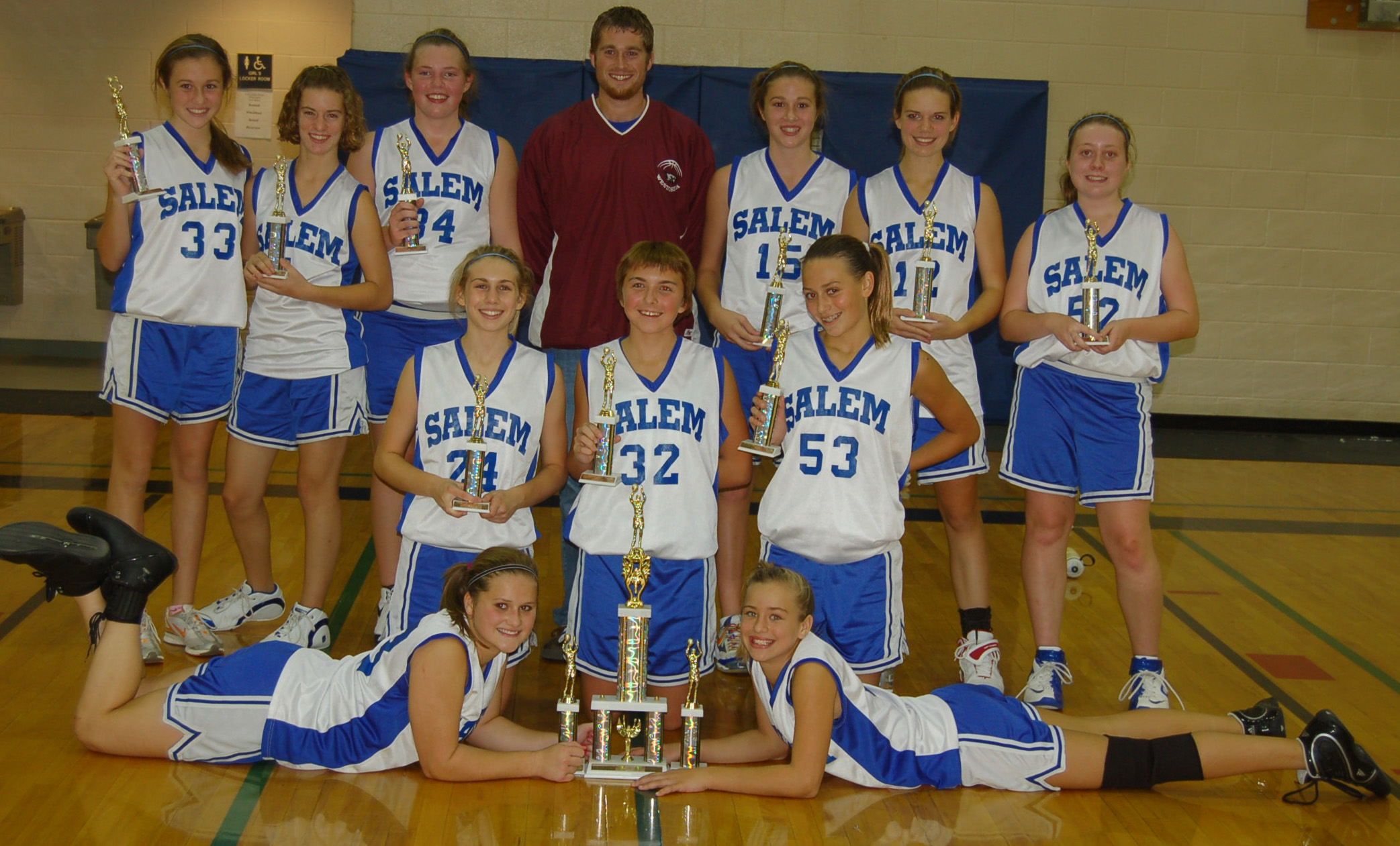 Salem girls take Comet invitational hoops tournament title West of