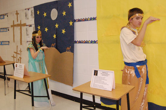 National History Day At Trevor Wilmot School Coverage