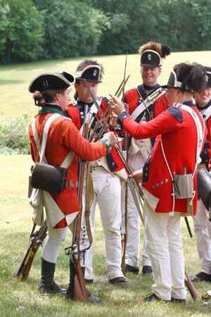 Rebels and Redcoats Revolutionary War Reenactment coverage – West ...
