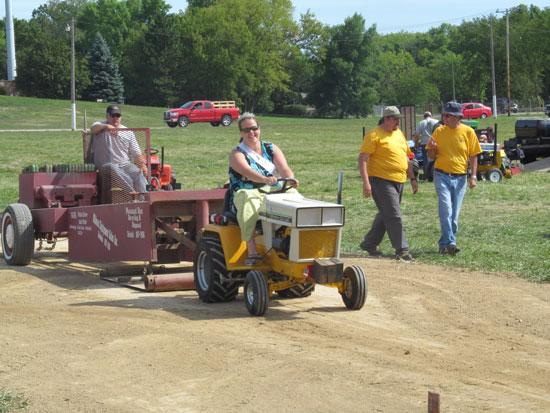 Fairest Of The Fair Jennifer Happ Gives Garden Tractor