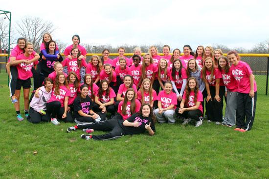 Central High School varsity and junior  varsity girls soccer teams. /Earlene Frederick photo