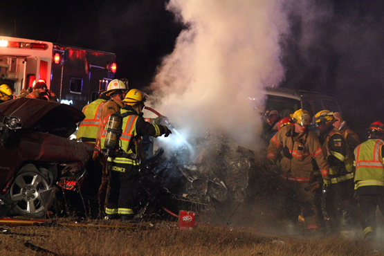 Fatal accident Hwy 50 – West of the I