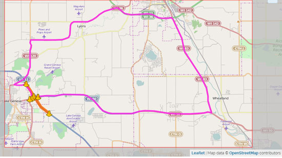 hwy-50-closure-in-lg-map-6-2015