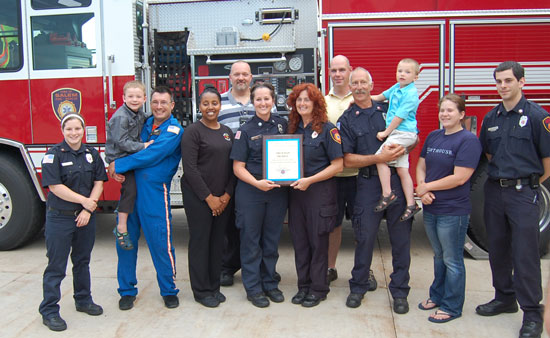 Flight For Life Presents Town Of Salem Fire Rescue With