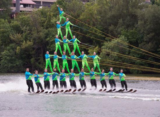5Hi Human Pyramid. /Photo by Lisa Neal Photography