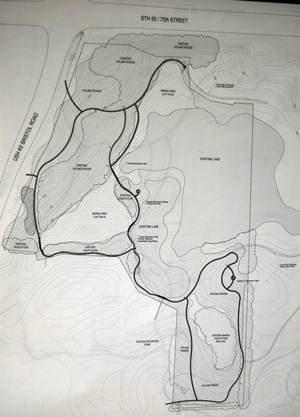 A plan for the proposed park from 2009. Click image for a larger view.