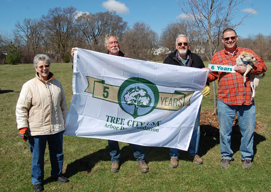 Arbor Day ceremony for MC Tree City status