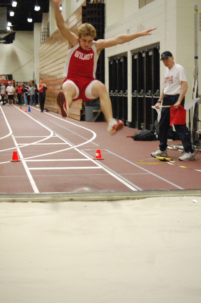 Ty Singleton, Wilmot sophomore from Twin Lakes, long jumps.