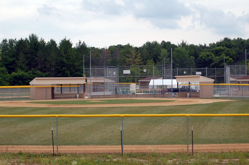 The Lakeland Little League baseball field complex at Brightondale County Park will host the baseball majors state tournament for the next week.