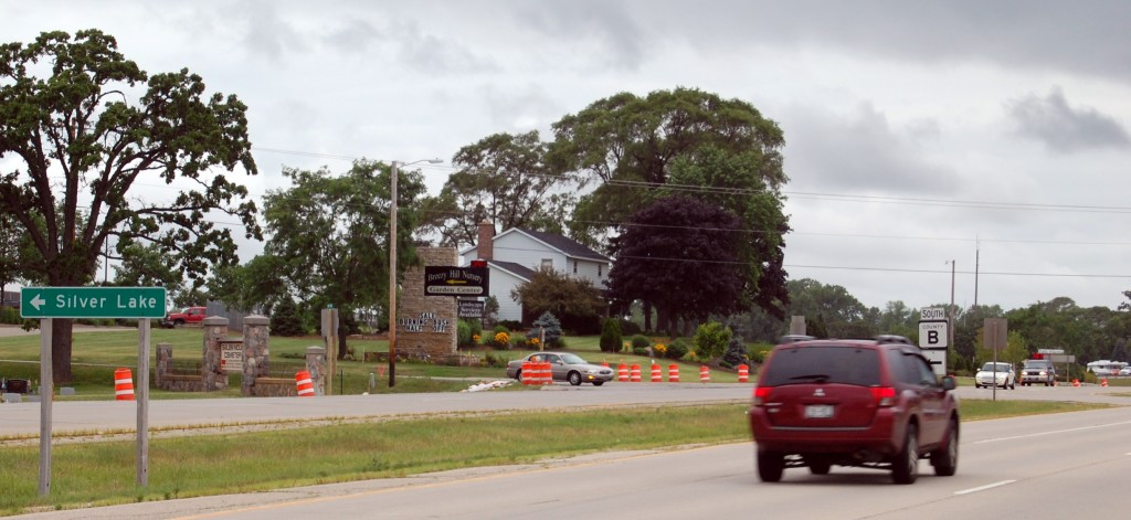 The intersection of Highways 50 and B is slated for an overhaul and installation of a traffic signal starting Monday and lasting until October.