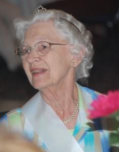 2009 outstanding citizen Betty Muhlenbeck.