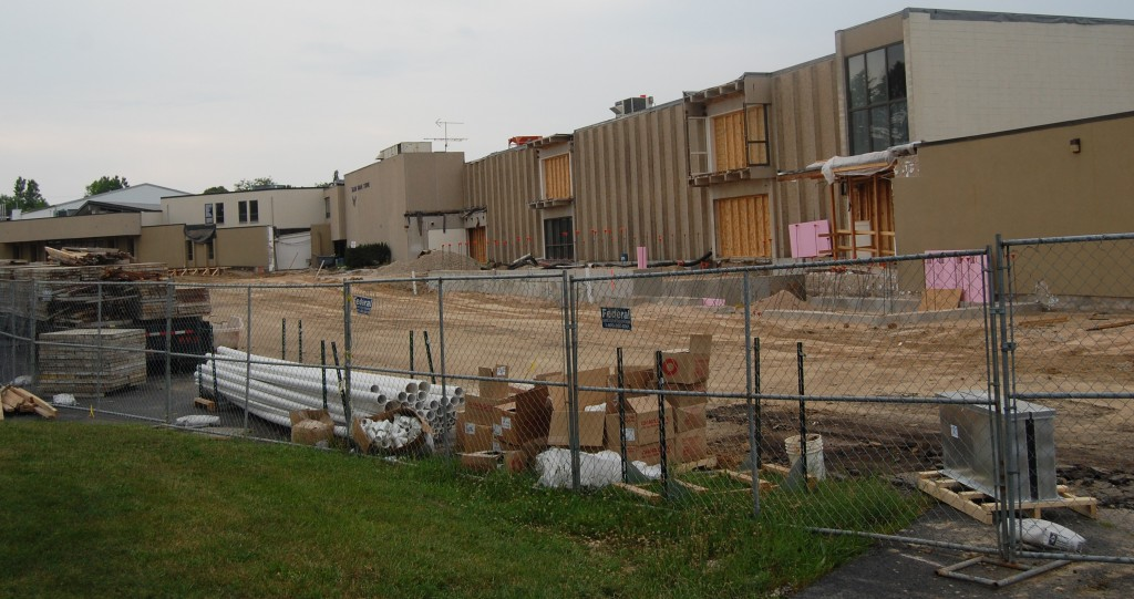 The Salem School renovation and addition project is on schedule and under budget so far.