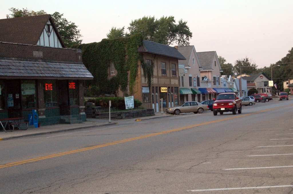 This section of Main Street in Twin Lakes may be getting a facelift.