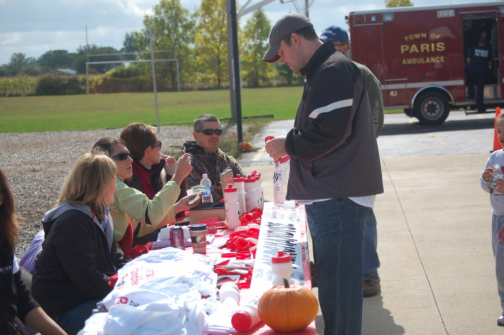 There was plenty of merchandise to purchase to show your Panther spirit.