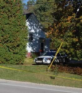 At least one deputy was still at the Leydel residence on Highway K in Brighton mid-morning Tuesday.
