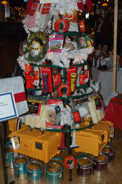 This hardware store themed tree from Do It Best Hardware took first place in the business category at the Twin Lakes Chamber and Business Association's Trees on Parade and Holiday Shopping event last weekend.