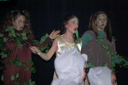 ... the false princess Zorina, played by Anna Leigh Niles.
