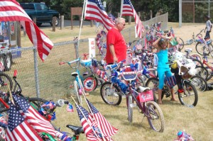 bikes-on-fence