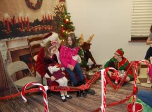 From Santa's 2012 visit to the Randall Fire Department.