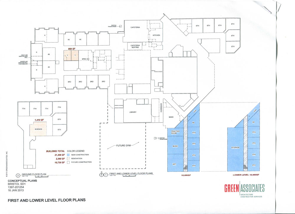 The floor plan presented Thursday night (click for a larger view).