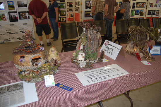 More fairy houses.