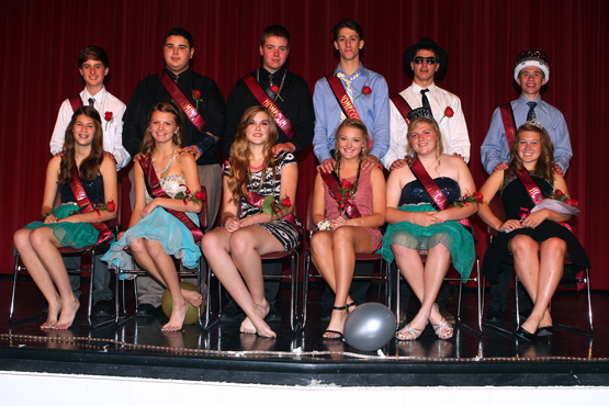 Central High School Homecoming Court
