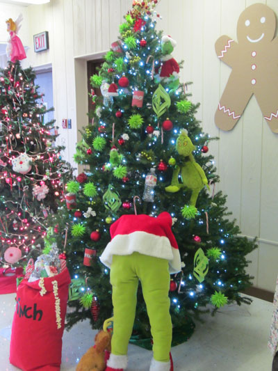 "Business Category winner: Mad Dan's, ""Mad Grinch Steals Christmas."" /Submitted photo"