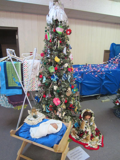 "The winner in the general tree category: Wilmot United Methodist Church & Calvary UCC Church,"" Sharing the Warmth of Christmas."" /Submitted photo"