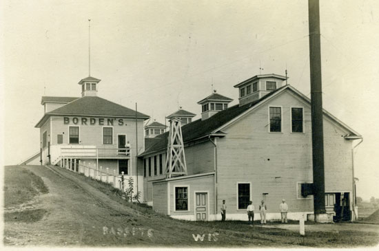 The Bassett Borden facility. /Photo used with permission of the Western Kenosha County Historical Society