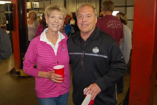 Karen and Rick Sarbacker.