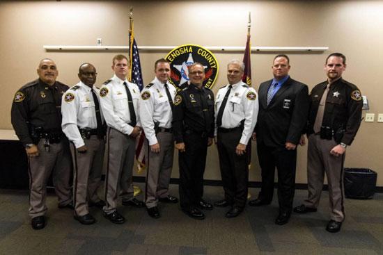 Kenosha County Sheriffs Department Promotions Announced