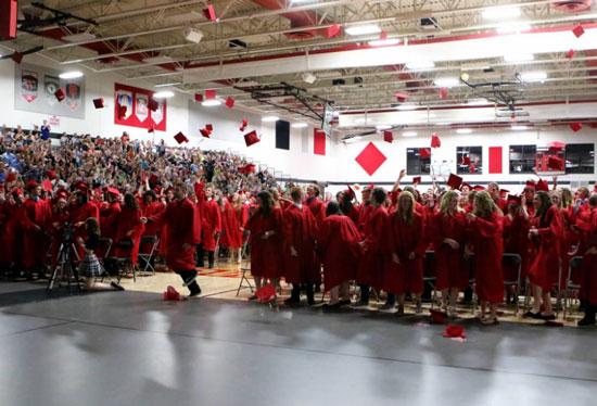 wilmot union high school class of 2017 graduation coverage