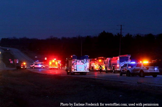 One person dead in Highway 50 crash – West of the I
