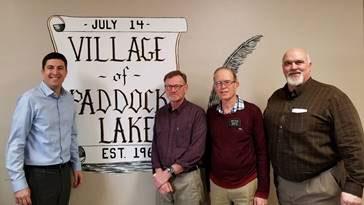 U S  Rep  Steil meets with Paddock Lake, Salem Lakes and