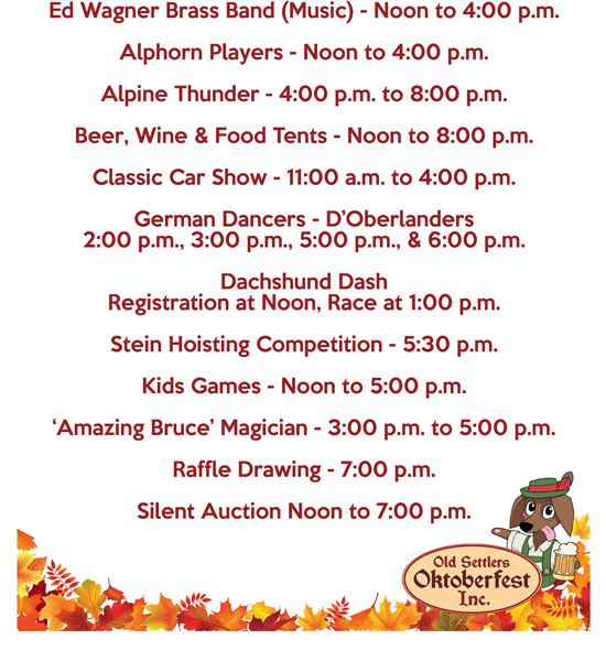 This image has an empty alt attribute; its file name is old-settler-oktoberfest-2021-sked.jpg